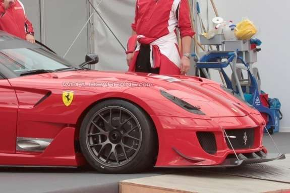 Ferrari 599XX EVO front