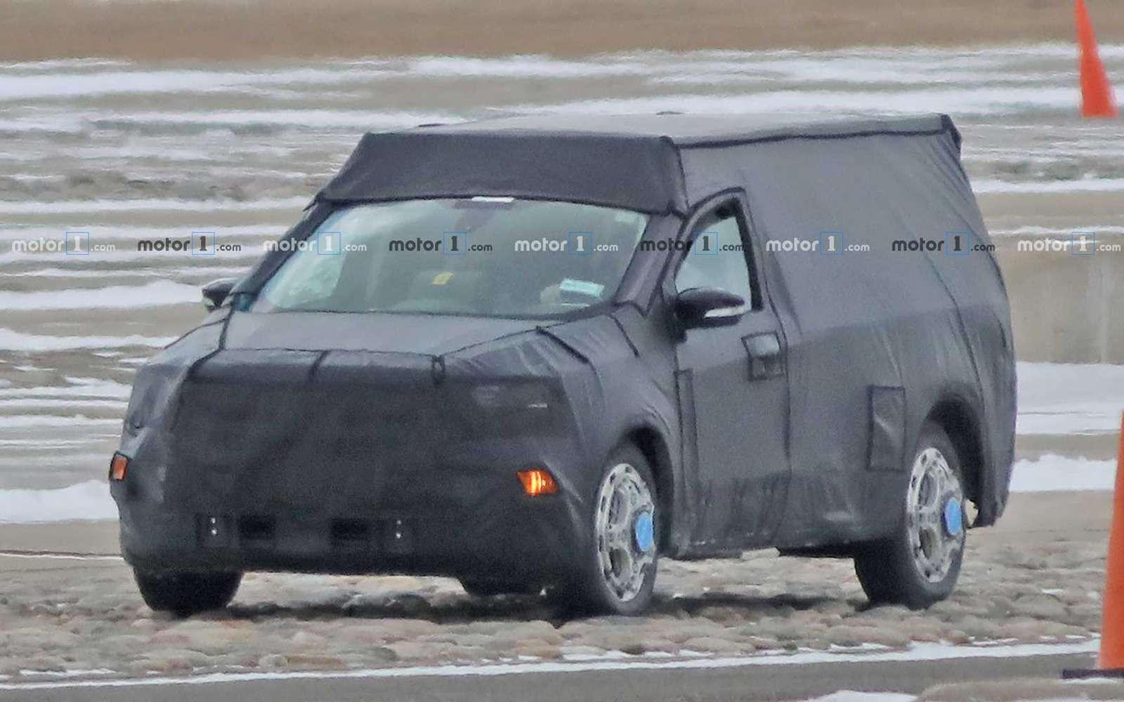 Ford Focus превратят влегковой пикап. Первые фото— фото 954929