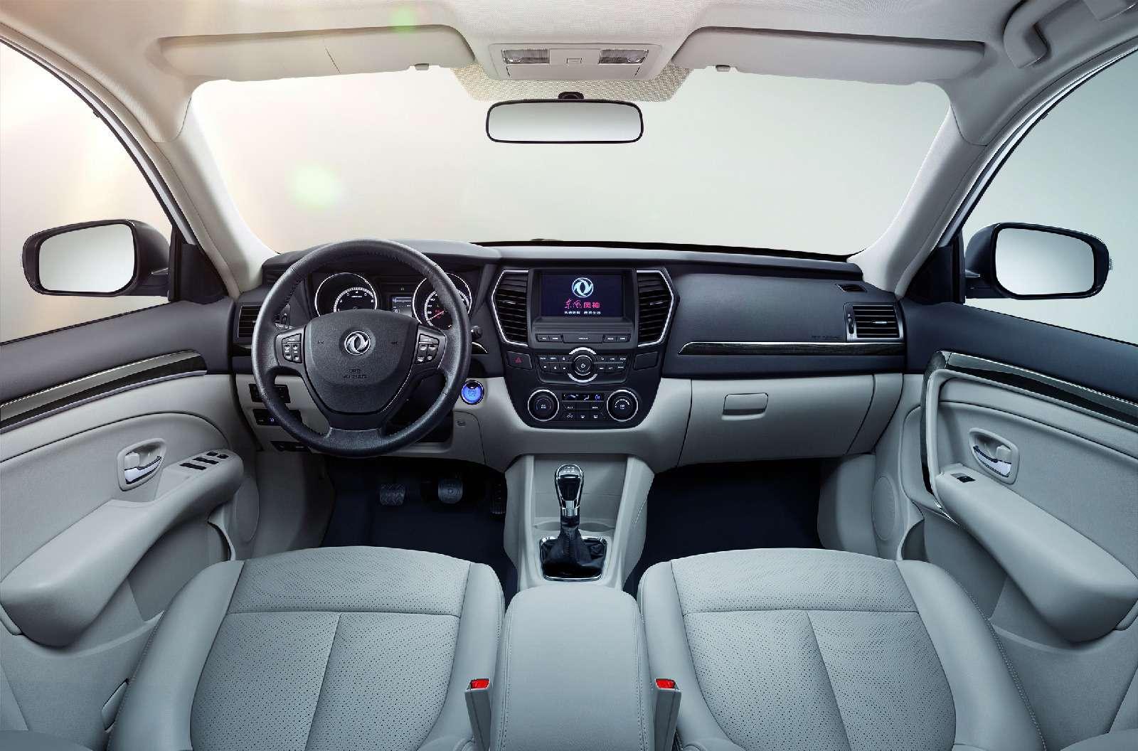 Dongfeng покажет наММАС два компактных седана— фото 623014