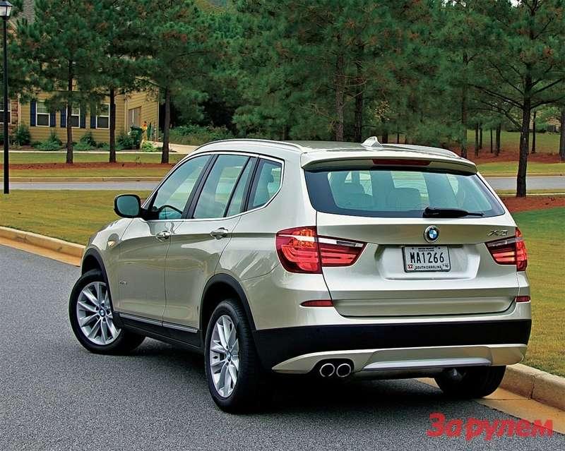 BMWX3стал мужественнее, просторнее, быстрее. апочасти электроники— один изнаиболее продвинутых автомобилей вклассе.