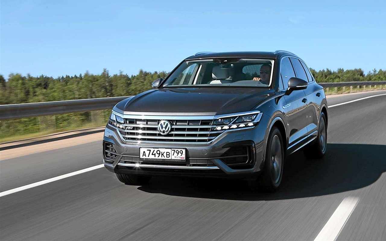 ВРоссии отзывают Volkswagen Touareg. Ремень безопасности подкачал!