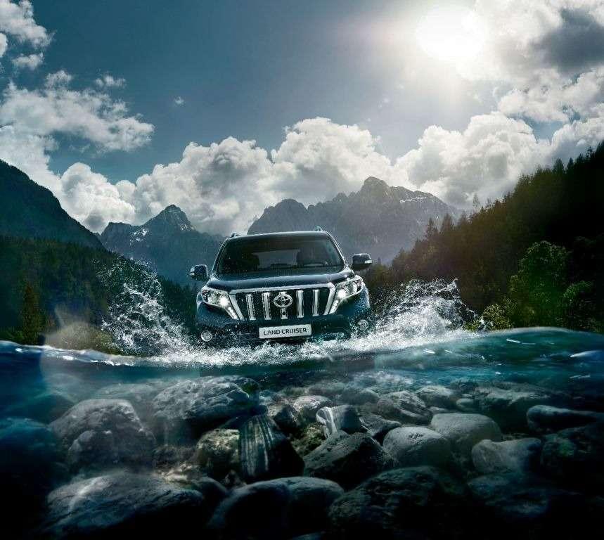 Toyota начала принимать заказы наобновленный Land Cruiser Prado— фото 386699