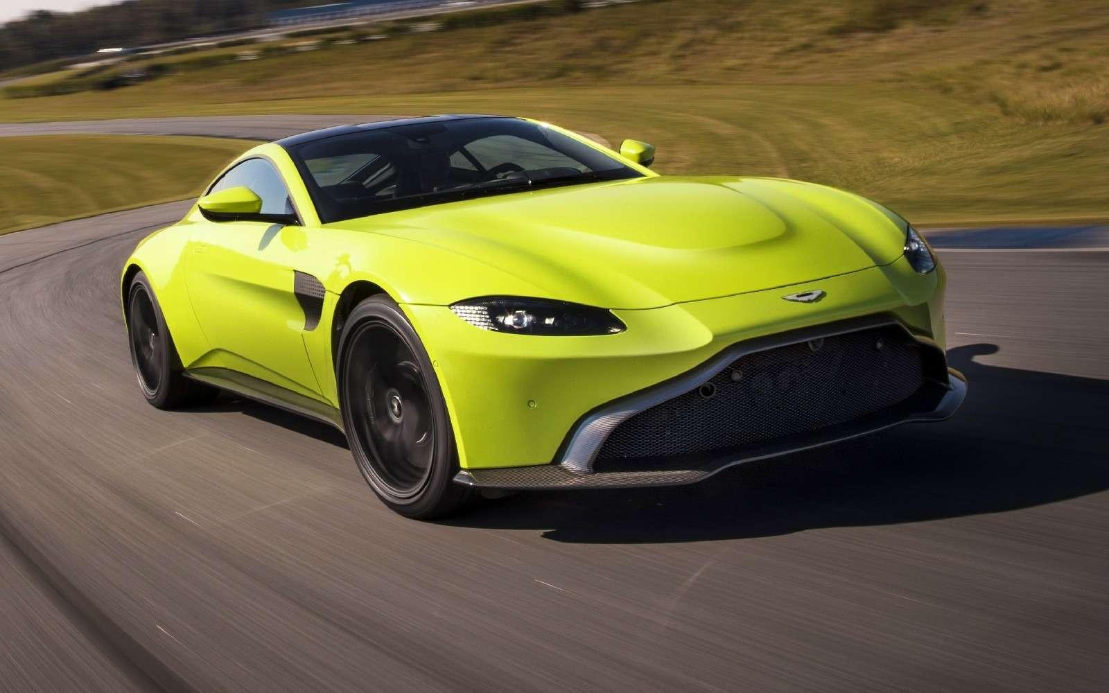 Проверено Джеймсом Бондом: представлен новый Aston Martin Vantage— фото 818845