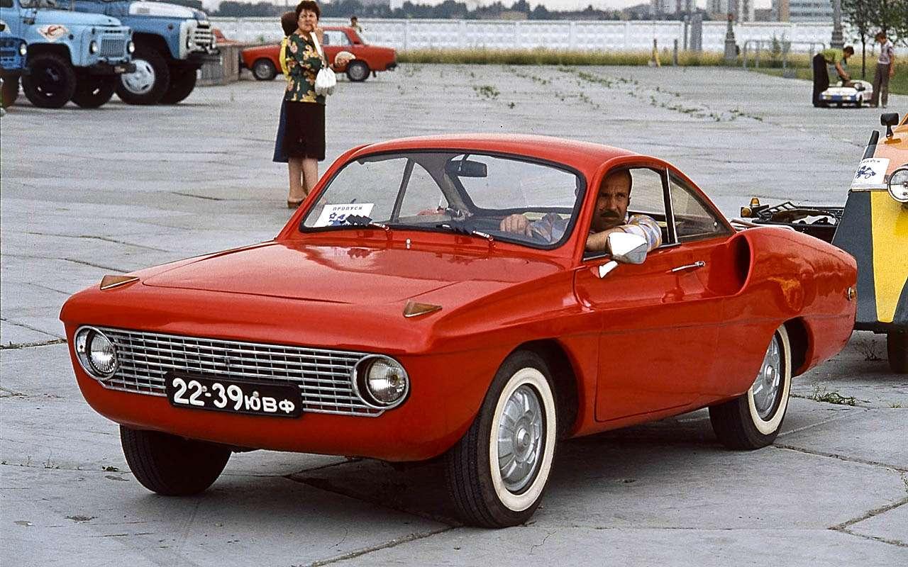 15уникальных самодельных автомобилей времен СССР— фото 809919