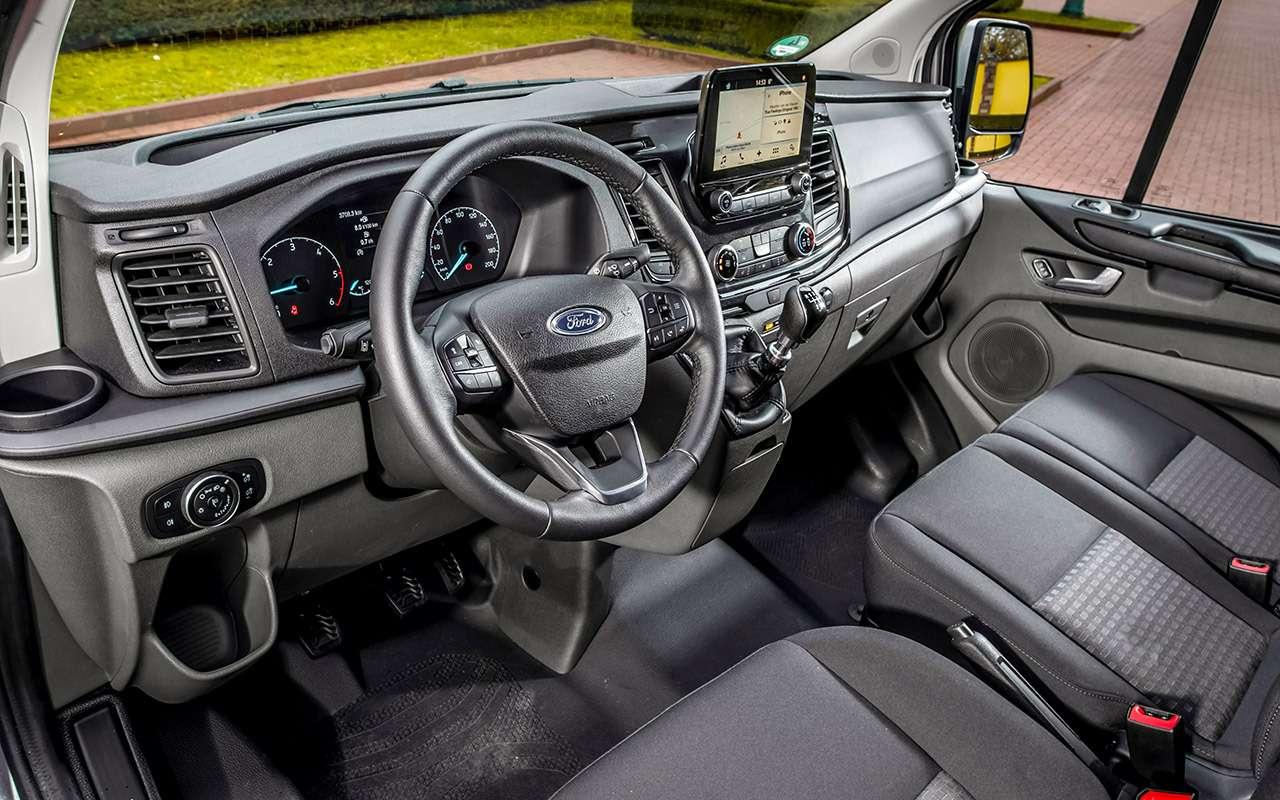 Обновленный Ford Transit Custom— тест-драйв ЗР— фото 841203