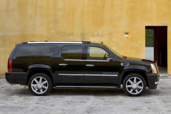 Cadillac Escalade ESV side view