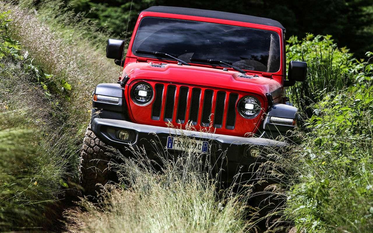 Новый Jeep Wrangler: конструктор длявзрослых— фото 886713