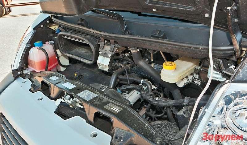 Двигатель SOFIM— главное отличие Ducato отсоперников смотором Puma. Характеристики обоих агрегатов, соответствующих Евро-4, почти идентичны