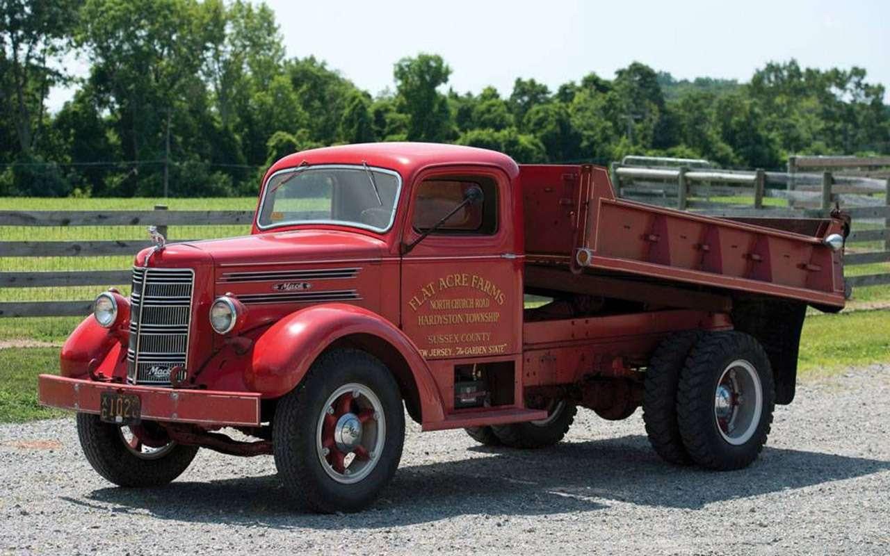 Первый советский дизельный грузовик ЯАЗ-200— родом изАмерики— фото 1255796