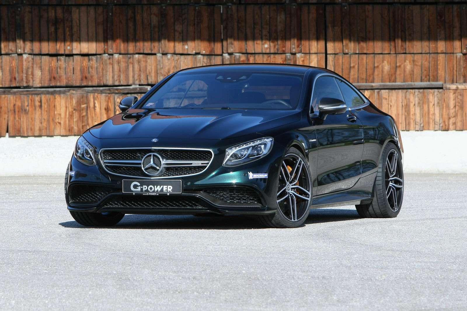 Слово титана: купе Mercedes-AMG выходит насверхмощность