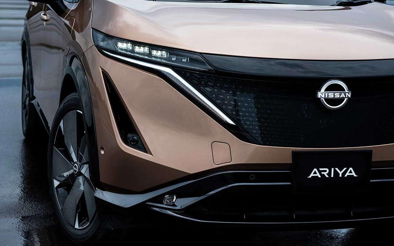 Nissan Ariya— мировая премьера новой надежды бренда— фото 1145152