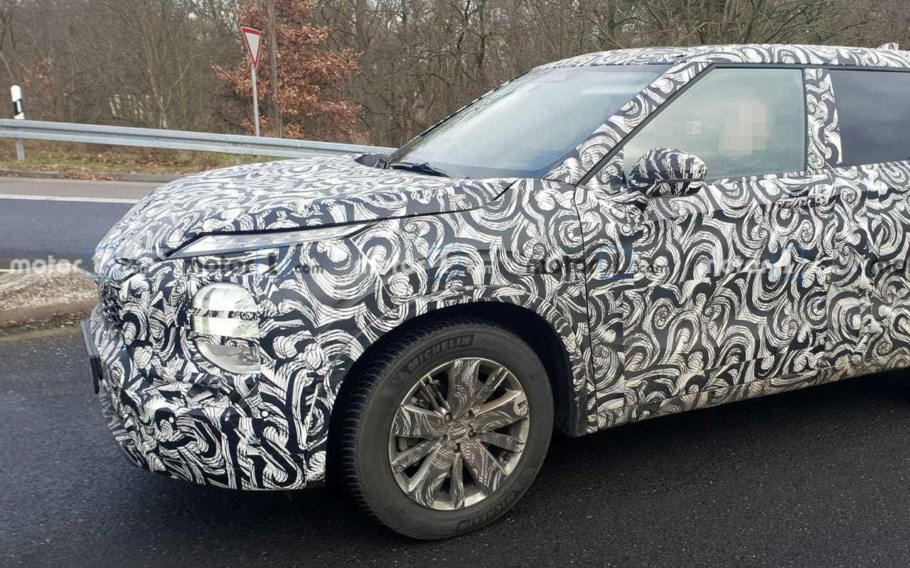 Новый Mitsubishi Outlander: его сделали похожим на Nissan Juke