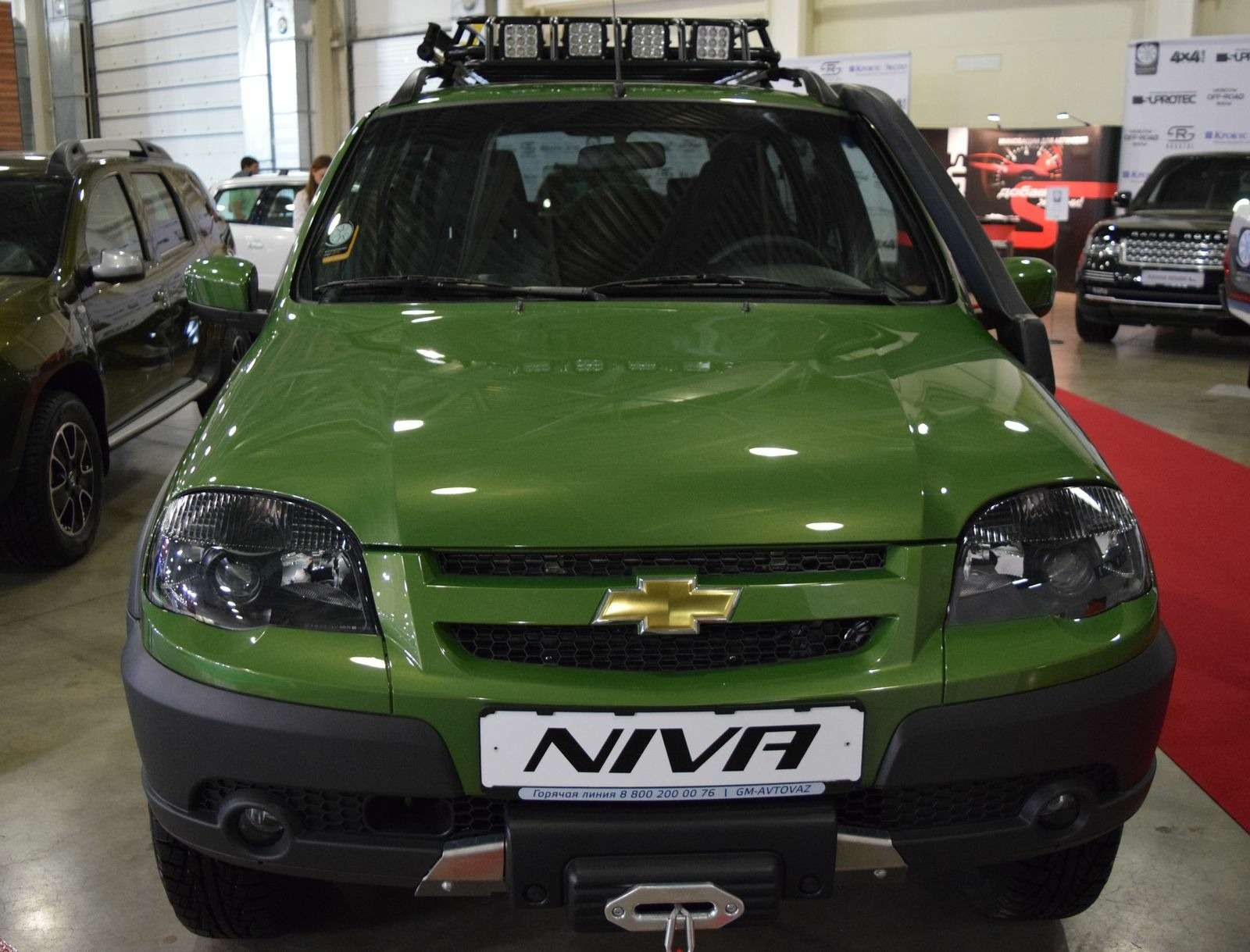 GM-АВТОВАЗ подогреет интерес кChevrolet Niva новыми спецверсиями— фото 387441