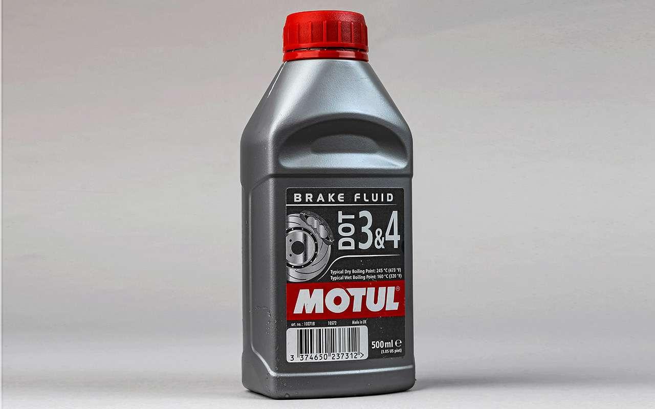 Тормозные жидкости DOT 4— выбор «Зарулем»— фото 950143
