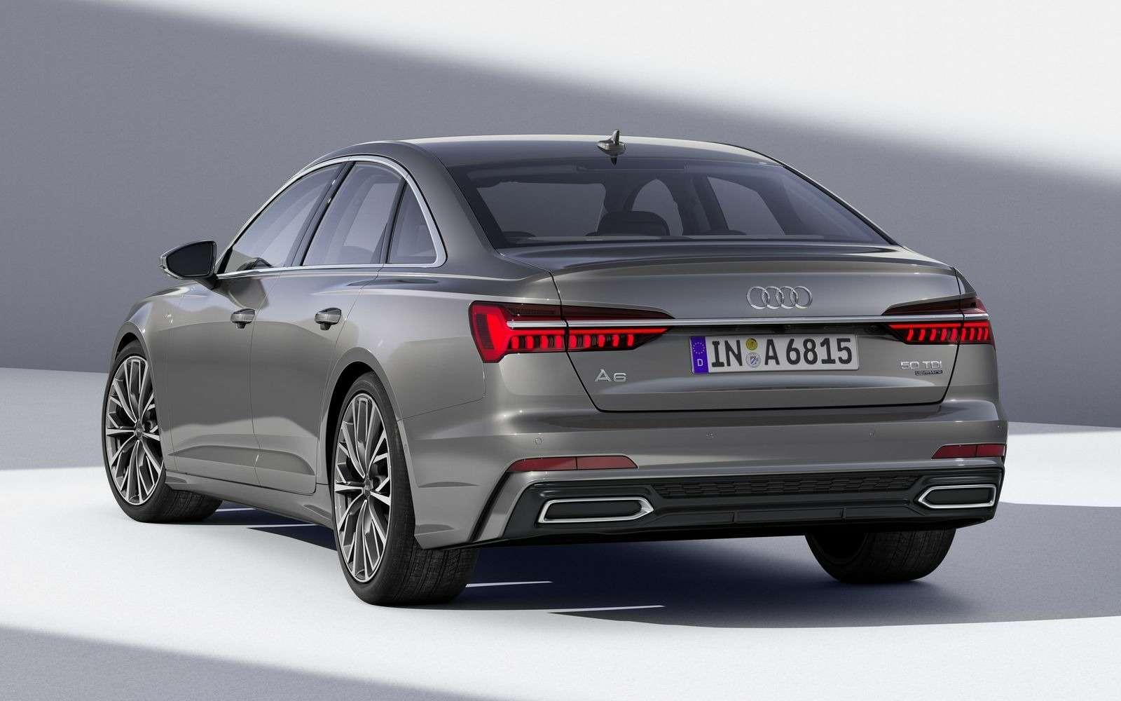 Новый Audi A6: найди десять отличий— фото 849234