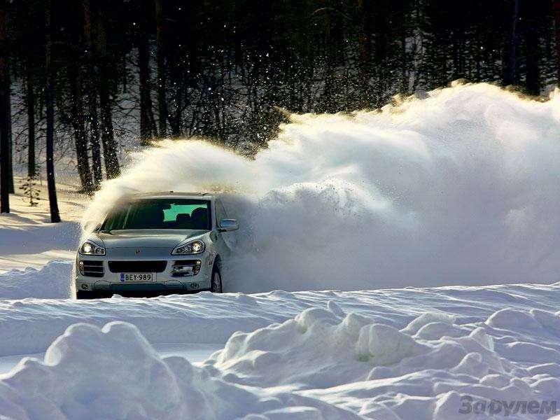 Тест нешипованные шины 255/55R18SUV: зимний балл— фото 89741