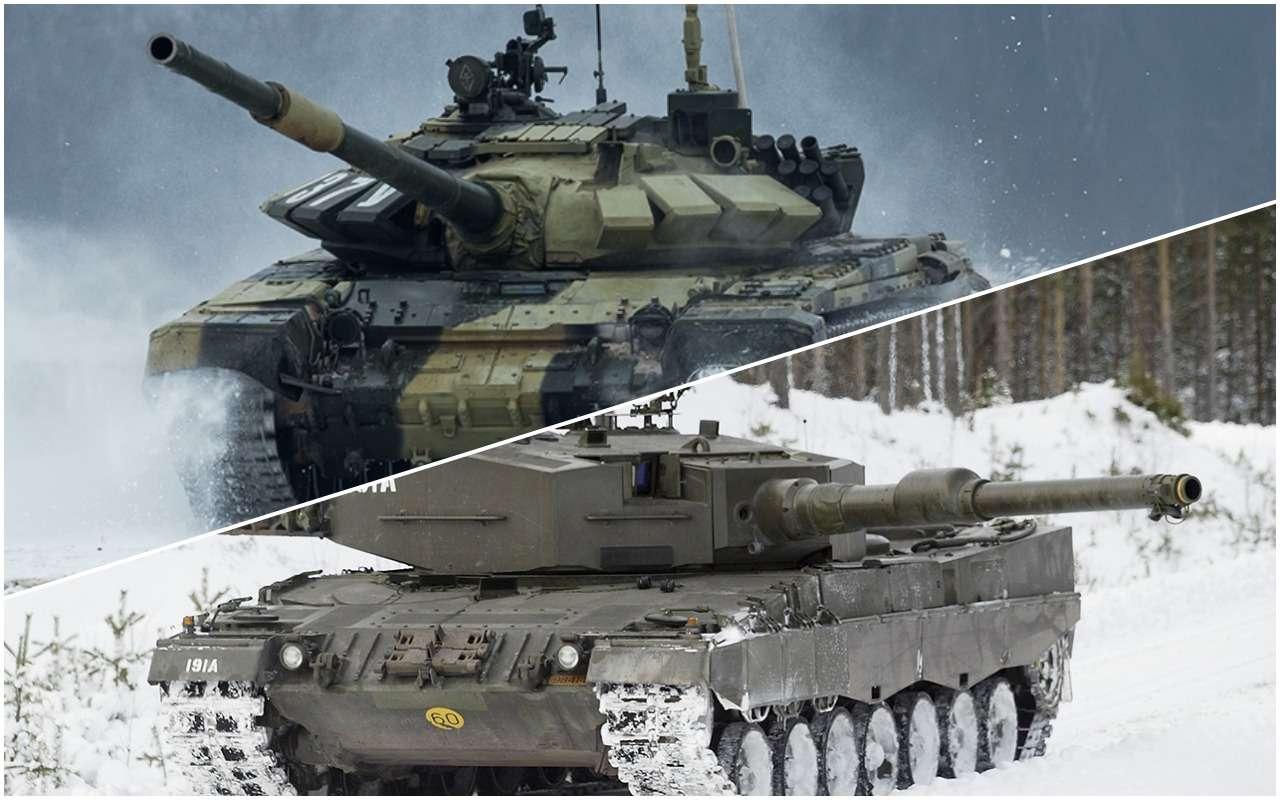 НашТ-72Б3 против немецкого Леопарда-2: пришельцы изпрошлого— фото 864025