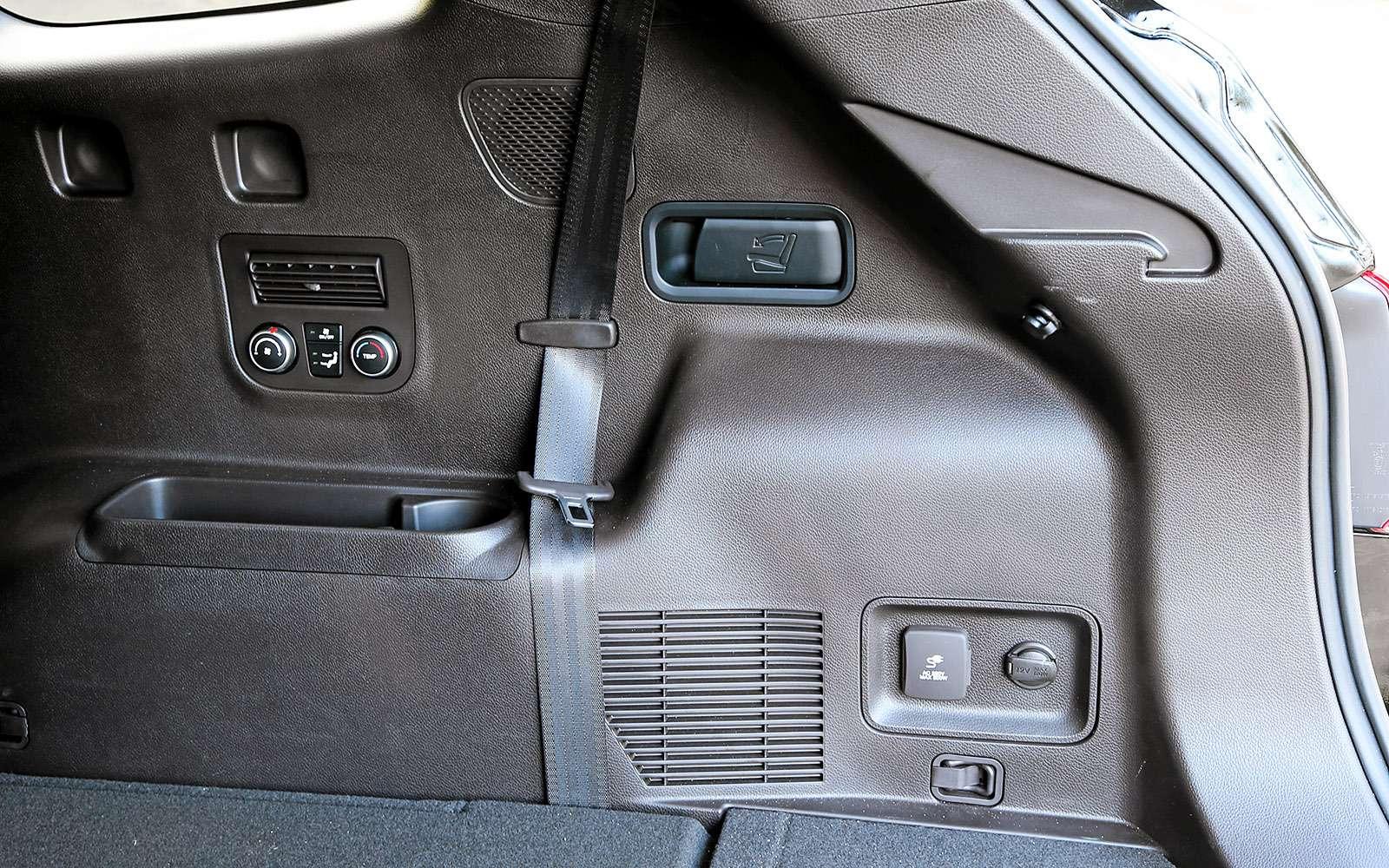 Новый Nissan Murano против конкурентов: длинные рубли— фото 691707
