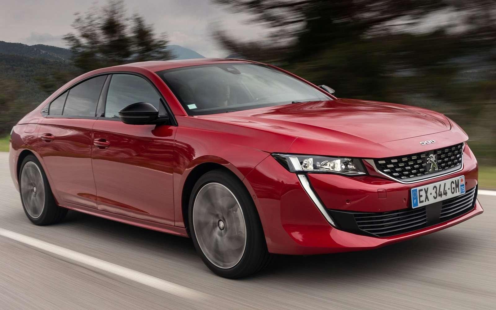 Peugeot привезет седан 508в Россию. Известны все версии— фото 960722