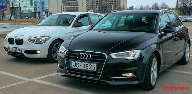 BMW1Series, Audi A3