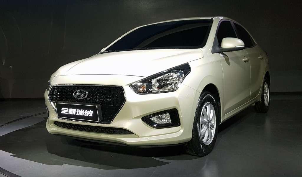 Дешевле некуда: представлен новый бюджетный седан Hyundai Reina— фото 762684