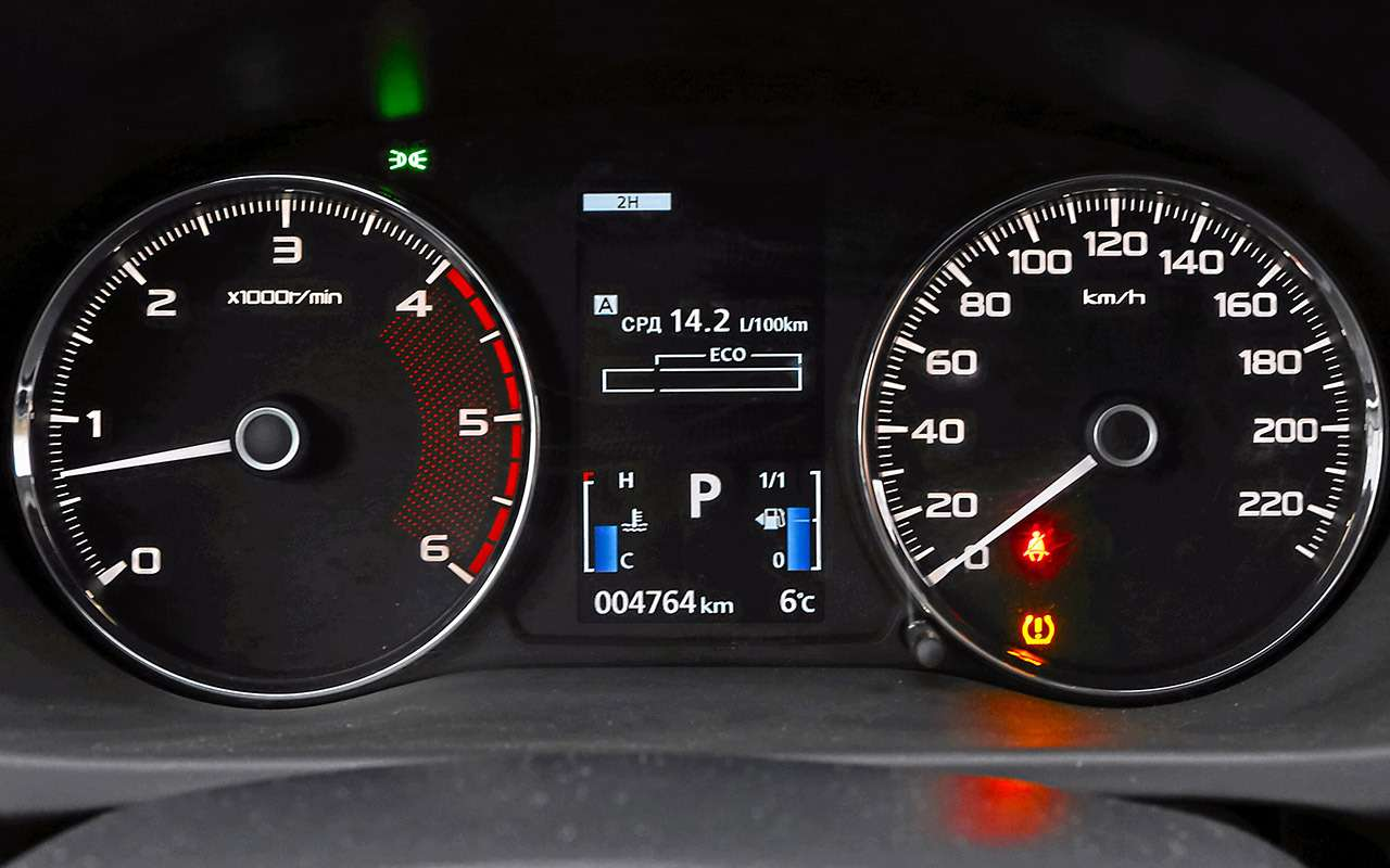 Toyota Fortuner, Mitsubishi Pajero Sport, Kia Mohave  — супертест — фото 855678