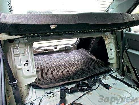 Доводим Renault Logan: Раскладушка— фото 90779