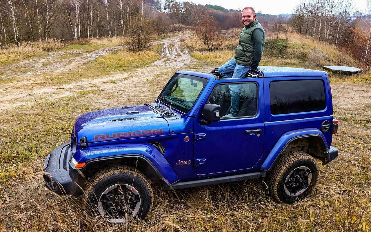 Тест-драйв легенд бездорожья: Lada 4x4, Suzuki Jimny, Jeep Wrangler— фото 1089449