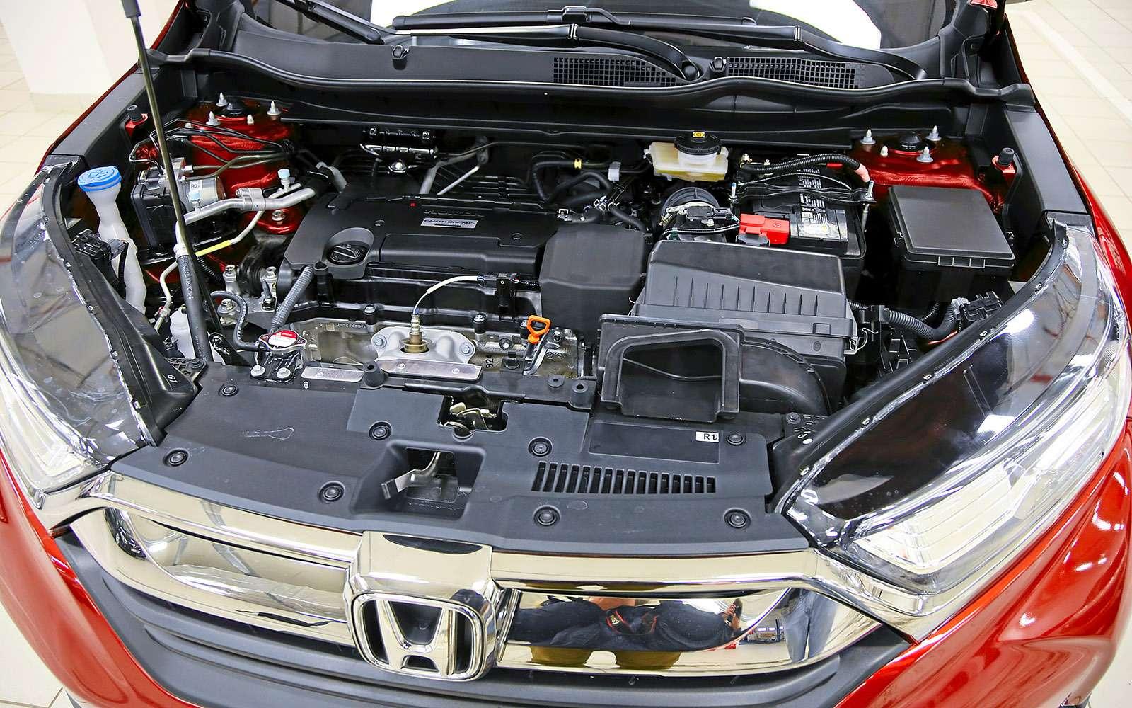 Заглядываем подюбку новой Хонде CR-V— фото 695114