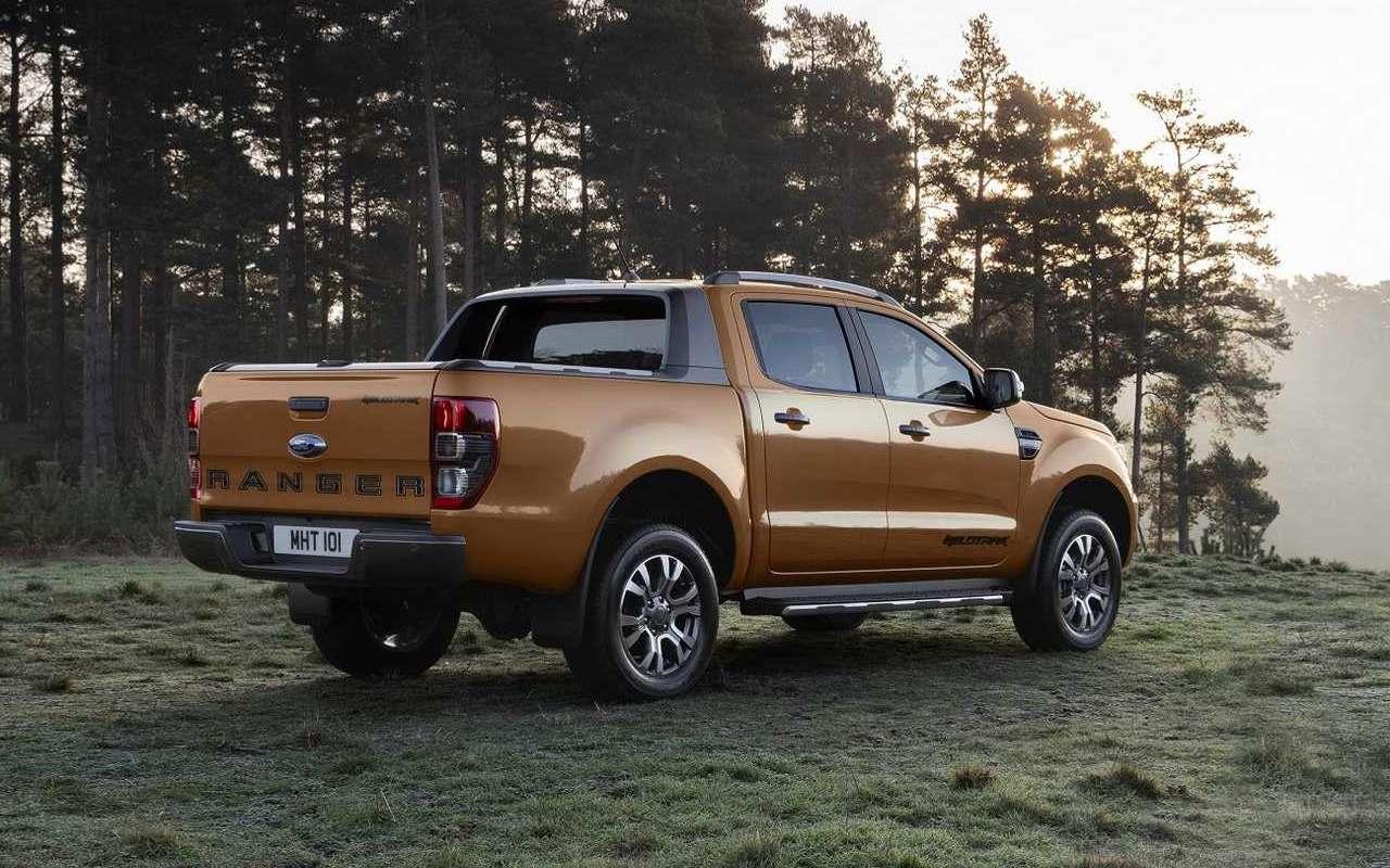 Ford показал обновленный пикап дляевропейского рынка— фото 943002