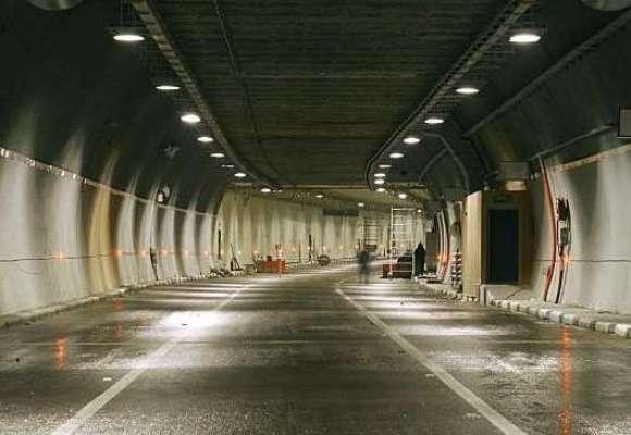 Гололед ограничил движение вВолоколамском тоннеле