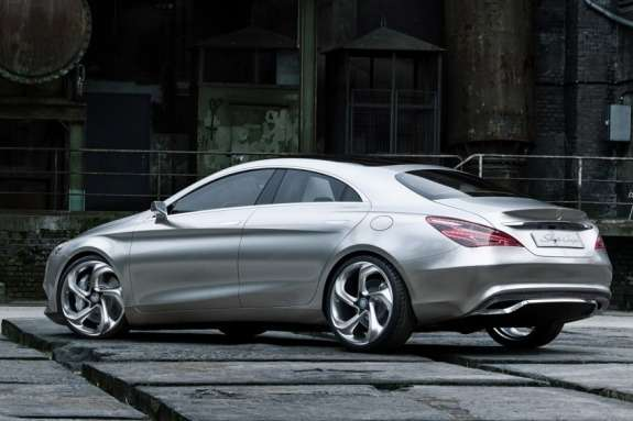 Mercedes-Benz Concept Style Coupe side-rear view