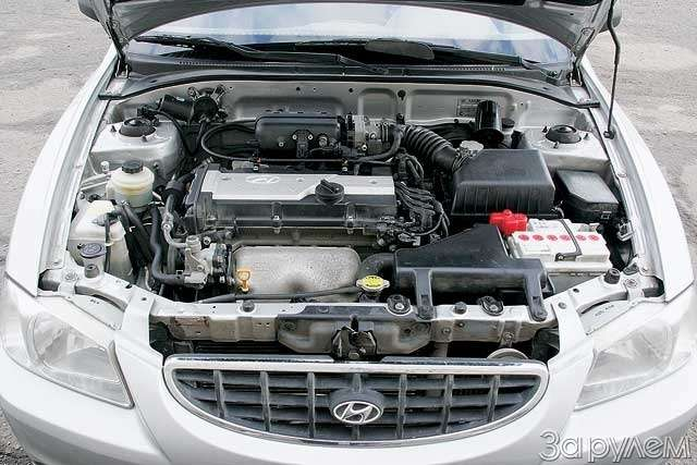 Тест-драйв Hyundai Accent, Chery Amulet. Восточные единоборцы— фото 65106