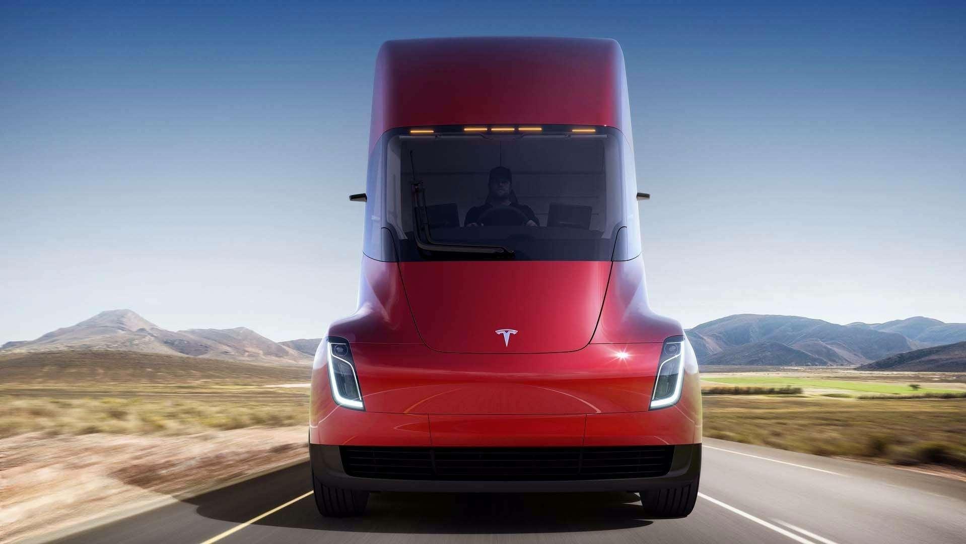 Грузовик Tesla: вечные тормоза иавтопилот. Дальнобойщик Федор Иваныч может остаться без работы!— фото 817338