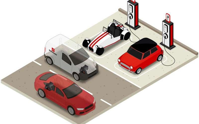 Особая коробка передач, иваша машина— электромобиль!