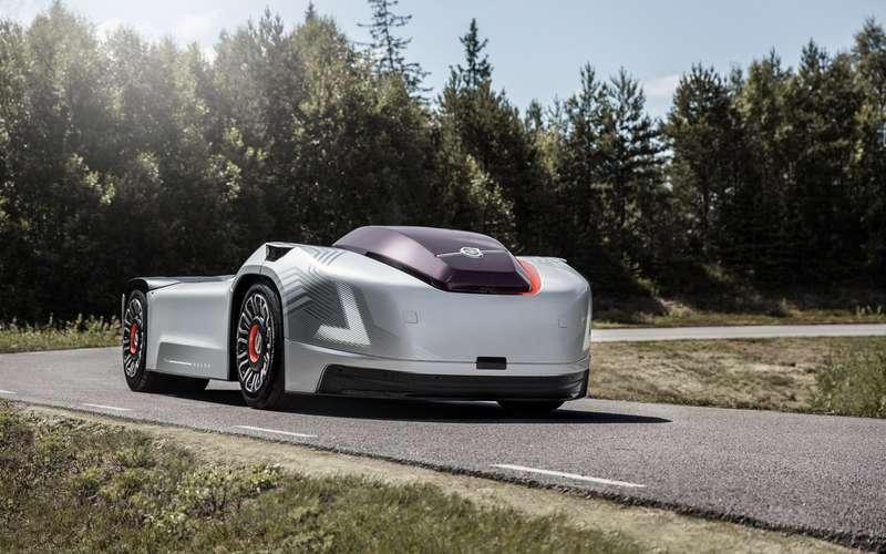 Исполины будущего: Volvo и Hyundai показали грузовики будущего