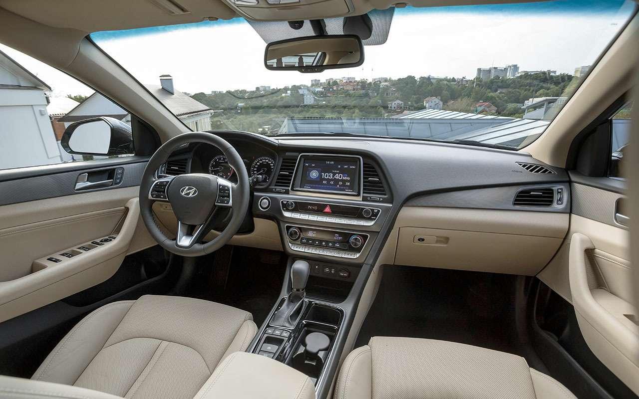 Новая Hyundai Sonata— первый тест-драйв— фото 798489