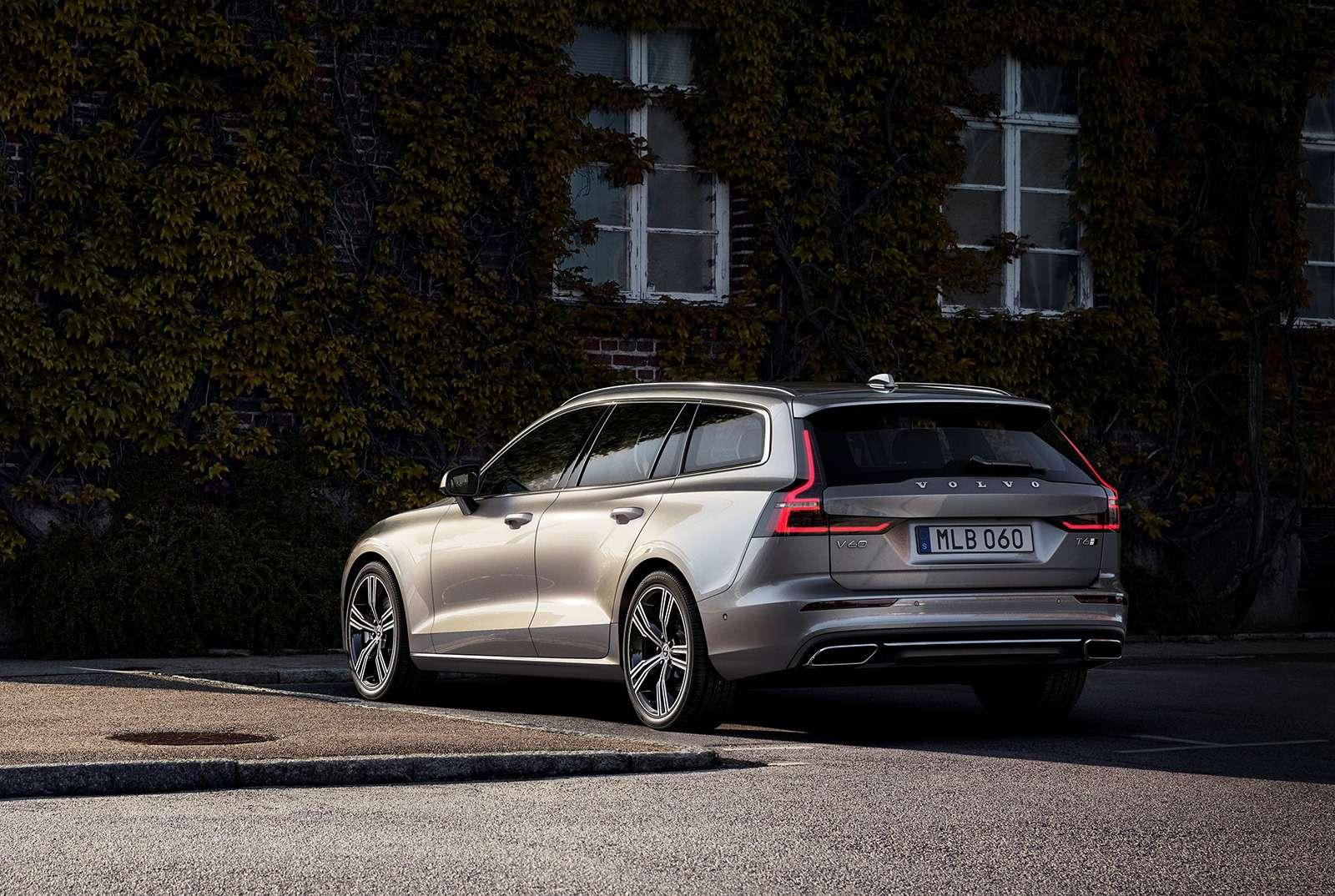 Volvo представила V60: семейный, роскошный ине длянас— фото 847557
