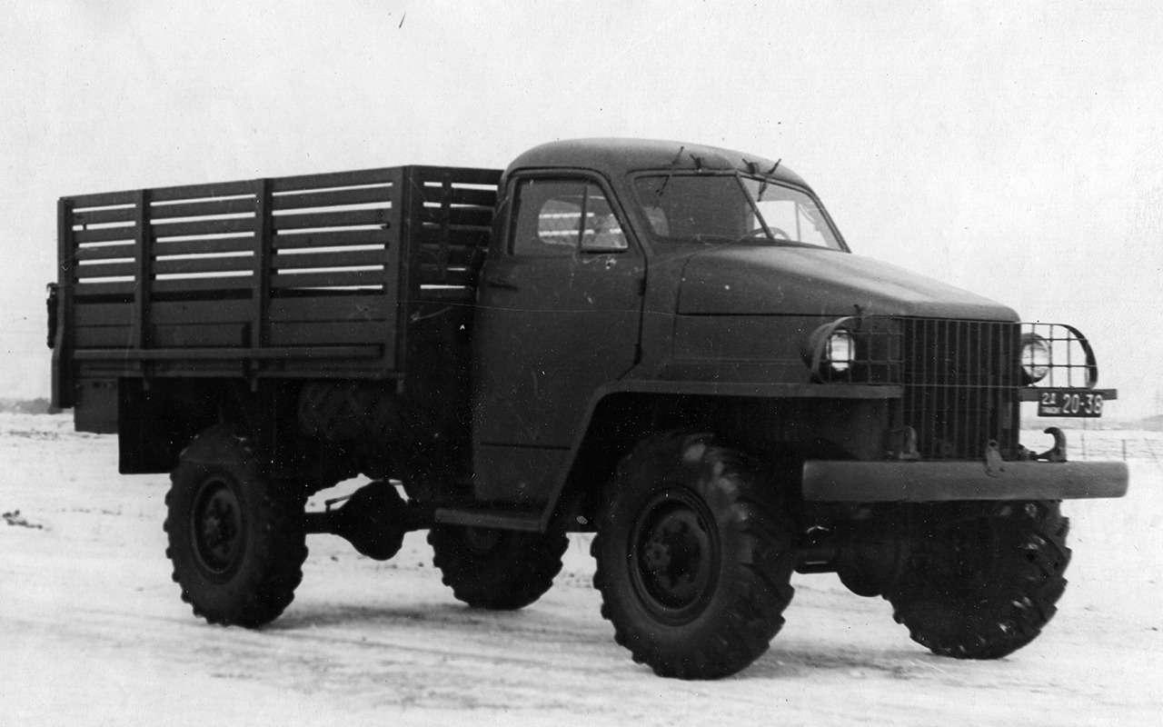 Самый популярный грузовик СССР— такого ГАЗ-51вы невидели— фото 961759