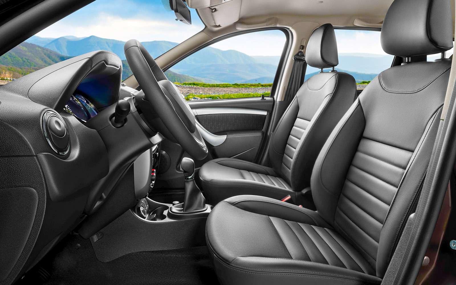 Обновленный Nissan Terrano— тест-драйв— фото 770701