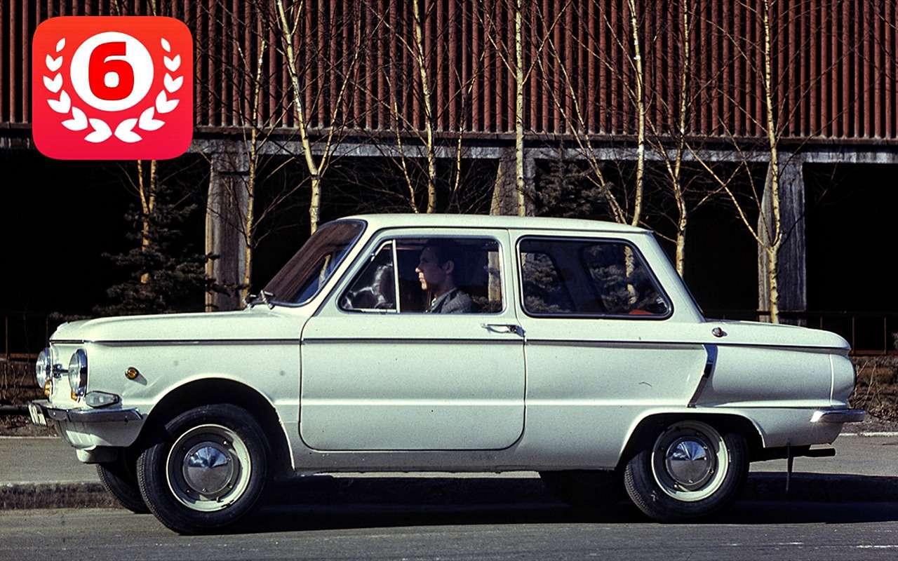 Самые продаваемые автомобили вистории нашей страны— фото 825703