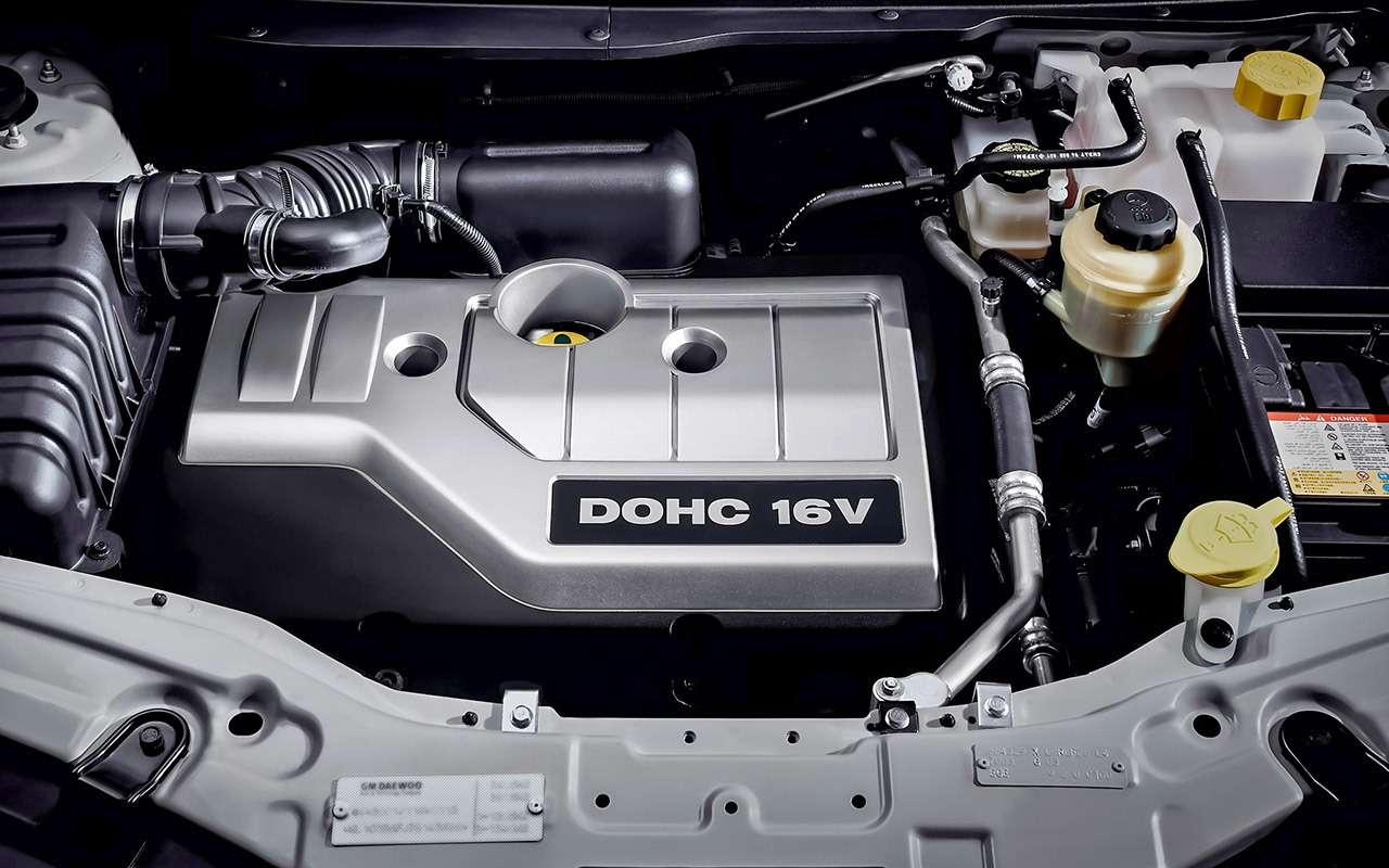 Chevrolet Captiva свторички: список проблем— фото 1167325
