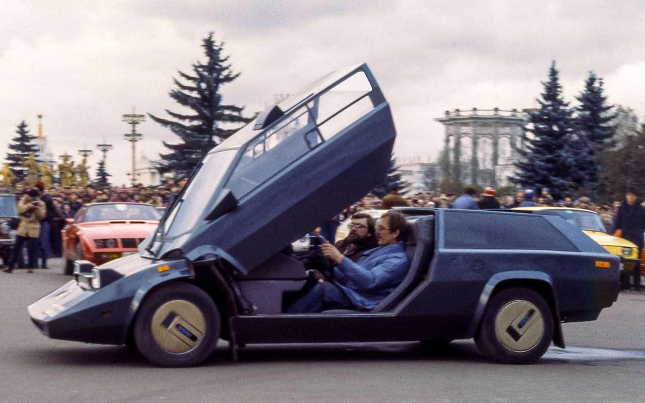 Автомобили-самоделки изСССР: отрасцвета дозаката