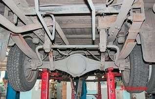 """Задний мост типа """"банджо"""" появился  на""""ГАЗели"""" в1996 году, анамаши- нах 2008 года ломался надвое"""