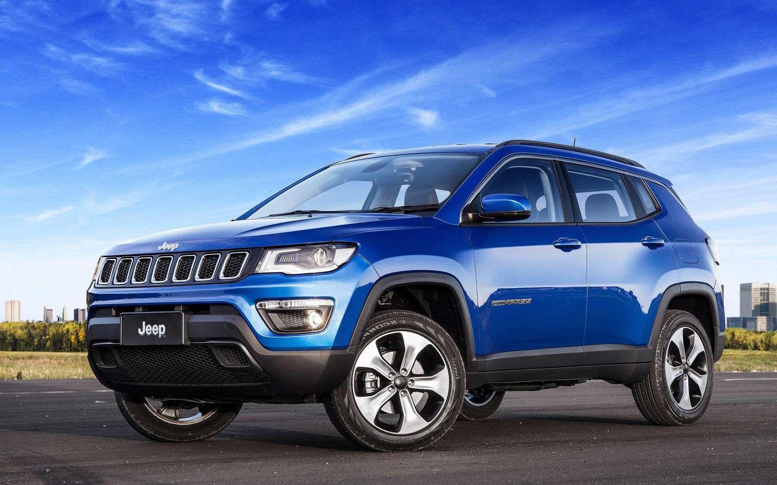Jeep объявил рублевые цены накроссовер Compass— фото 892101