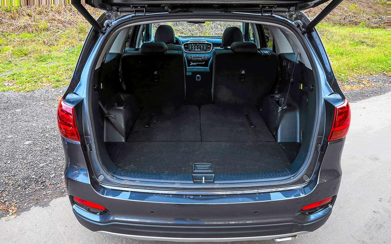 Hyundai Santa Feпротив конкурентов: большой тест кроссоверов— фото 931475
