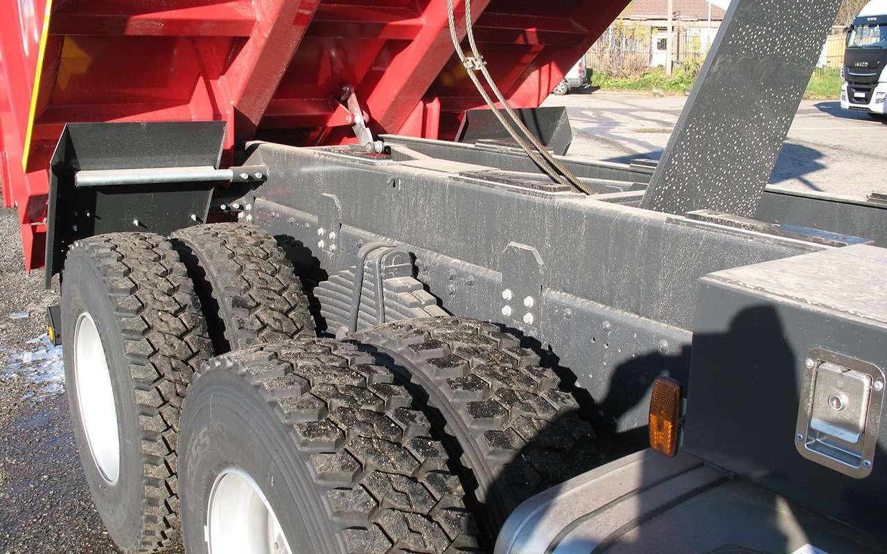 Тяжелые грузовики IVECO Trakker: все особенности— фото 1233435