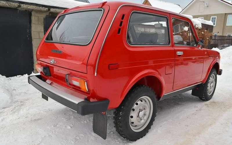 ВАЗ-2121, 1980год