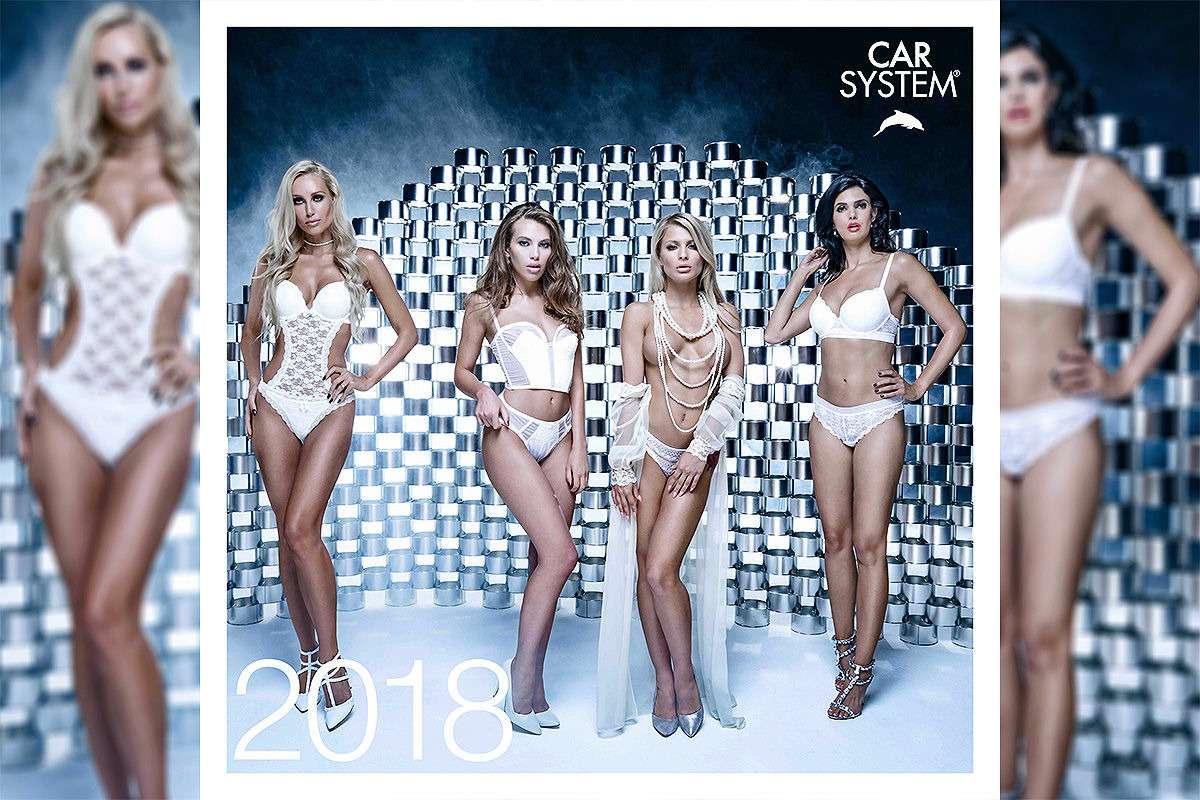 Онивгонят вас вкраску! Эротический календарь Carsystem 2018— фото 820636