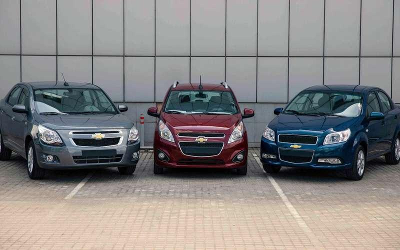 Chevrolet вернулся! 3модели дешевле миллиона